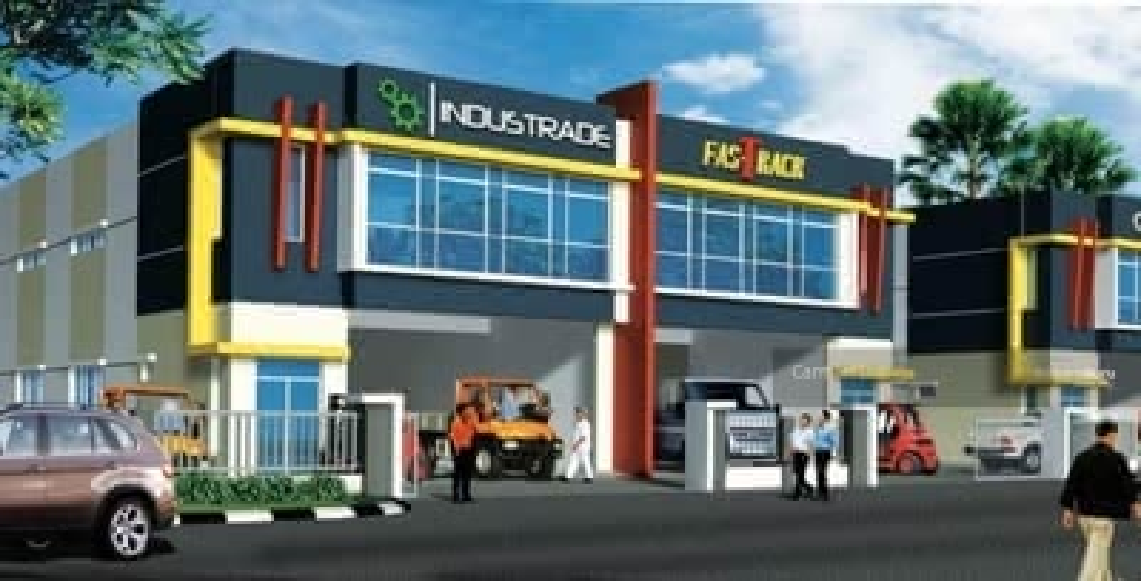 For Sale - (Corner lot )1. 5 Storey Semi-D Warehouse / Factory ; Airport batu beremdam