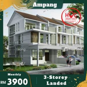 For Sale - Ampang 3storey Landed 3min MRR2