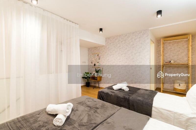 Designer Duplex | 80% Furnished + Reno | 3 Rooms 2 Bathroom | Next to MRT & Mall #157584231