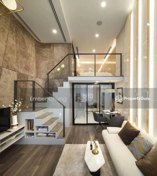 Designer Duplex   80% Furnished + Reno   3 Rooms 2 Bathroom   Next to MRT & Mall #157584299