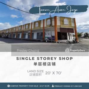 For Sale - New Single Shop in Taman Aman Jaya Kampar