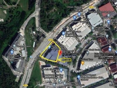 For Rent - Glenmarie Bungalow Warehouse / Factory / Showroom