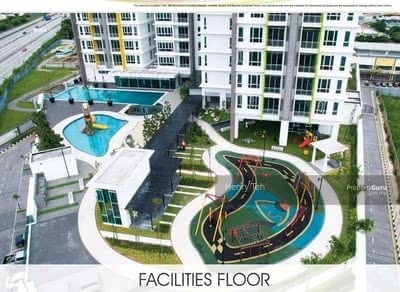 For Sale - 《For Sale》 Fully Furnished D'Festivo Condominium @ Ipoh Garden