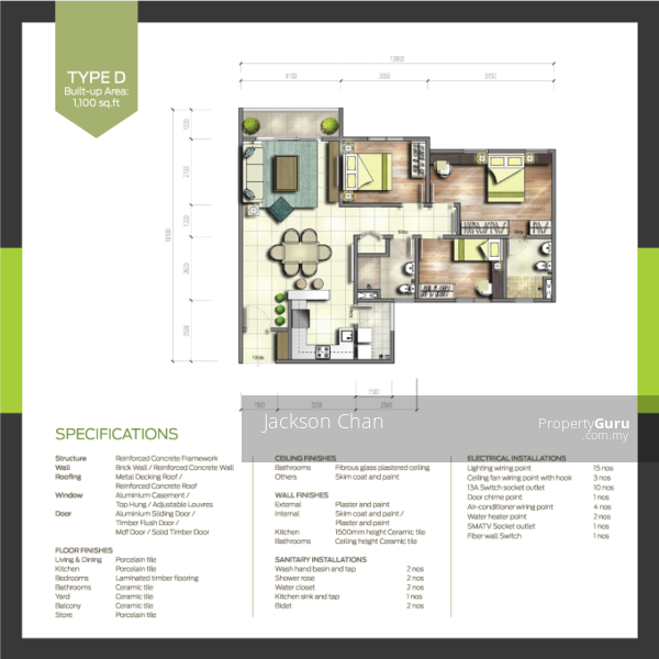 Parkhill Residence Bukit Jalil #159344647