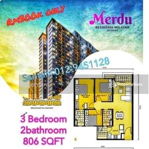 For Sale - Rumawip Merdu, Setapak