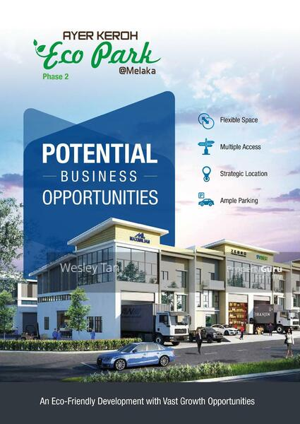 Ayer Keroh Brand New 2.5 Terrace Factory 4000 sf For Sale #160714535