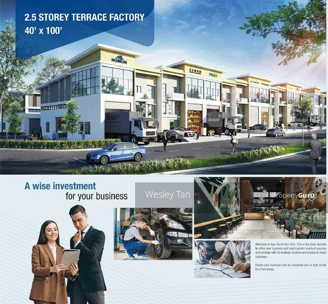 Ayer Keroh Brand New 2.5 Terrace Factory 4000 sf For Sale #160714539
