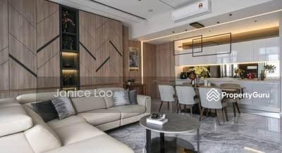 For Sale - Spacious Ampang Sky Semi D Condo , Super Low Density @ Interchange KESAS/SUKE/AKLEH/MRR2/DUKE !