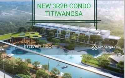 For Sale - NEW LAKEFRONT CONDO 3R2B , TITIWANGSA