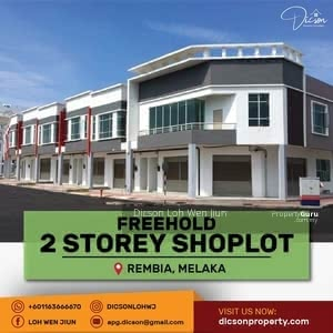 For Sale - DOUBLE STOREY SHOPLOT REMBIA