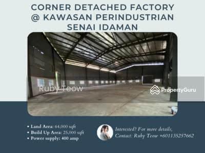 For Sale - Kawasan Perindustrian Senai Idaman Factory (Corner Detached Factory)