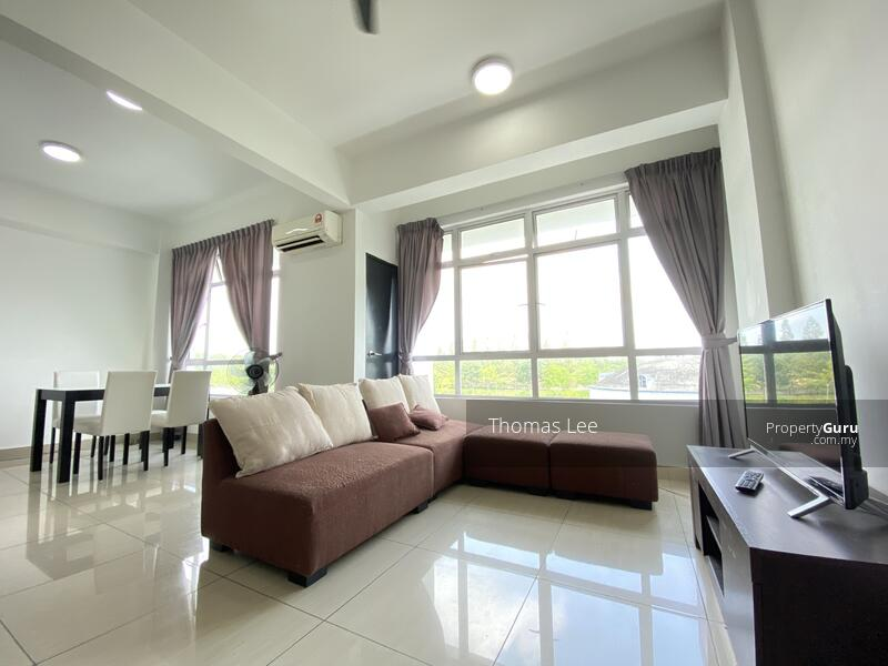 Unblocked view Fully furnish condo with Hugh Space beside Golf Course #161685689