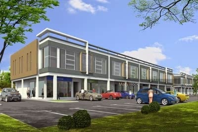 For Sale - New Shop Office Facing Main Road @ New Township