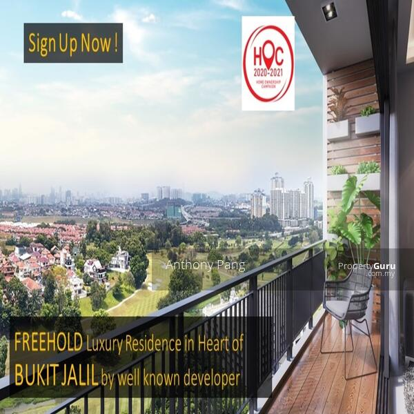 Bukit Jalil New Launch Luxury Golf View Freehold Project by Branded Developer & Doorstep Groceries #161964333