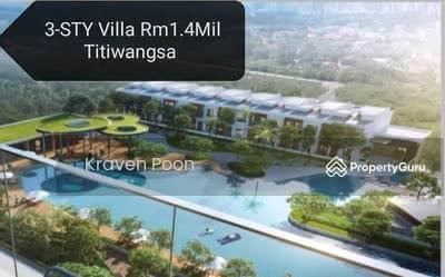 Dijual - NEW 3 STY / 4 STY HOUSE IN TITIWANGSA