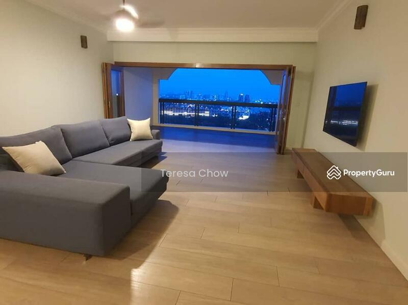 Living Hall with open door balcony (Night view)