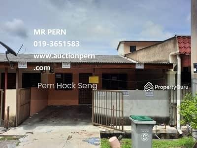 Dijual - Melaka, Merlimau, Jalan MU 6@1 Storey Terrace House, Low Cost-5 MAY 2021