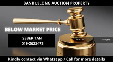 For Sale - 14/7 BANK LELONG No. 82, Jalan Datuk Sulaiman 4, Taman Tun Dr Ismail, 60000 Kuala Lumpur