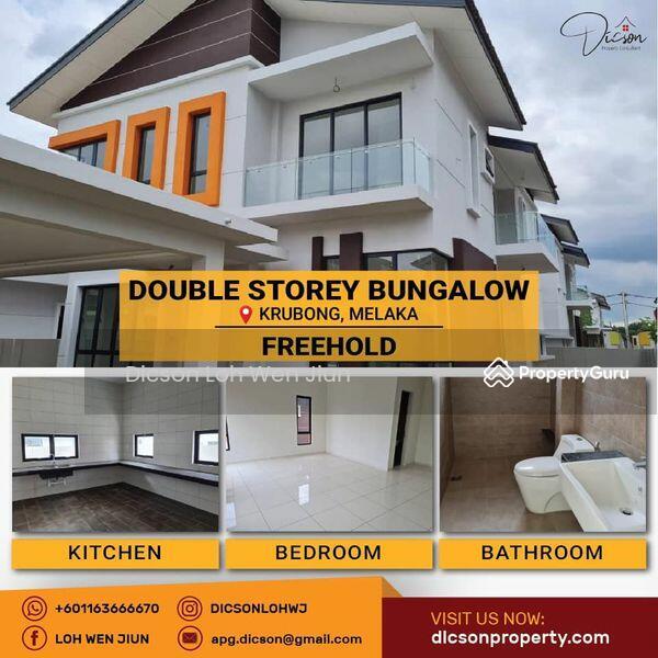 double storey bungalow #163221375