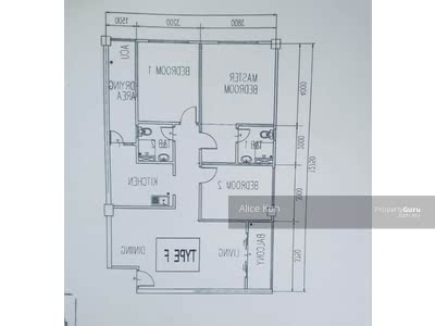 For Sale - Three Bedrooms Genesis Mall 2 Apartment Jalan Sungai Moyan