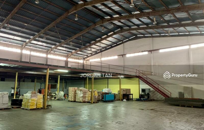 Desa Cemerlang @  Detached Factory #163437935