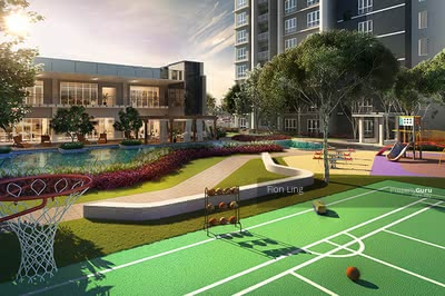 For Sale - [400M To LRT] Damansara New Launch   Next To One Utama   Monthly From RM1, 1xx Only