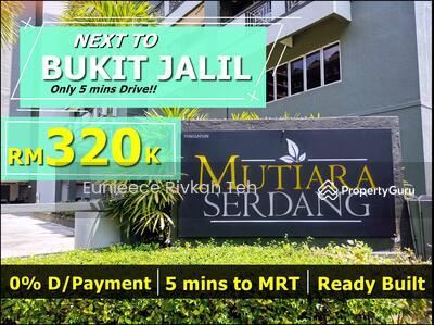 For Sale - MRT  Condo ASTRO BUKIT JALIL