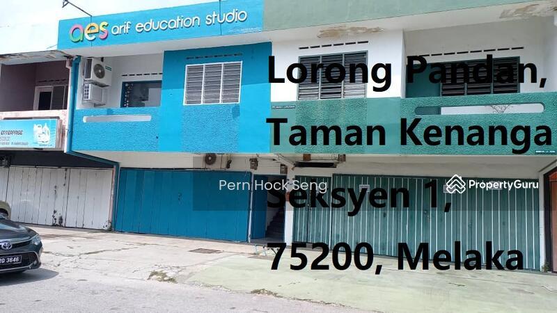 Melaka, Lorong Pandan,Taman Kenanga Seksyen 1@2 Storey Terrace Shop Office-COMING SOON #163637561