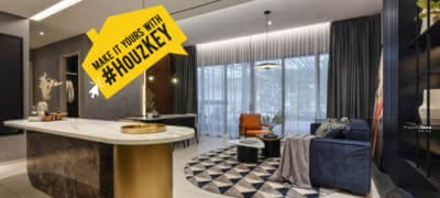 Dijual - 3Mins To KLCC ONLY RM1800 monthly | 100% Full Loan Zero Payment Next To Mont Kiara