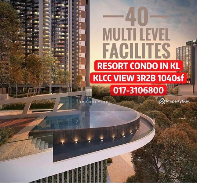 (CASH BACK RM 43,000) KLCC Titiwangsa Lake View Condo. 3R2B 1040sf Balcony 2 Carpark. HURRY #163807207