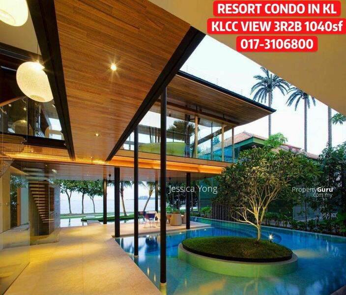 (CASH BACK RM 43,000) KLCC Titiwangsa Lake View Condo. 3R2B 1040sf Balcony 2 Carpark. HURRY #163807209