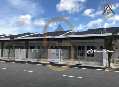 For Sale - Rumah Teres 1 Tingkat Saiz Tanah 20'X88' Belakang Tanah Kosong 16kaki