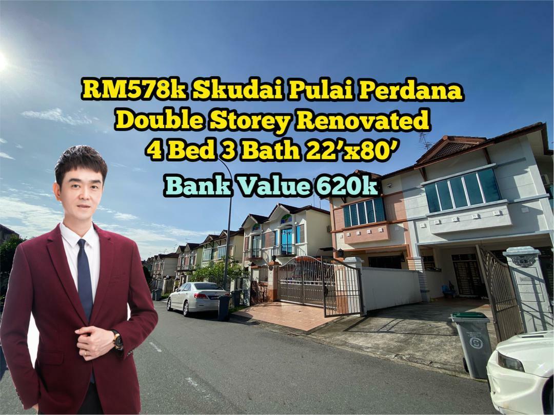 For Sale - Skudai Taman Pulai Perdana @ Pulai Spring Pulai Indah Jaya University