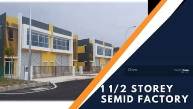 For Sale - Completed 1 1/2 Storey Semi D Factory Mitc