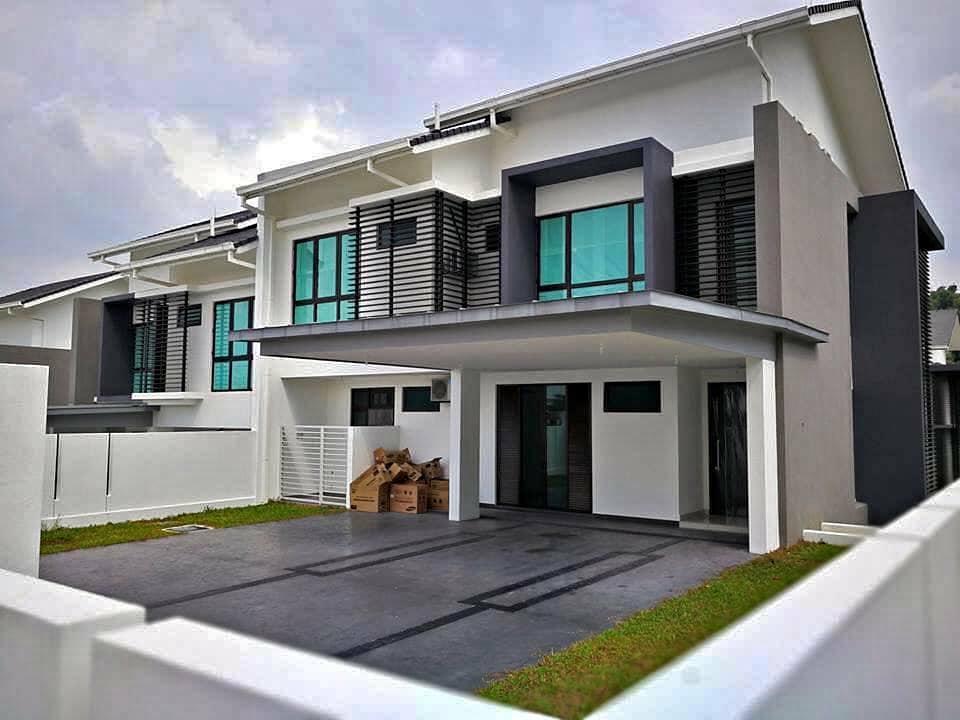 For Sale - [REBATE 20%+CASHBACK 75K] 2sty Superlink Freehold Nr Senawang / Seremban