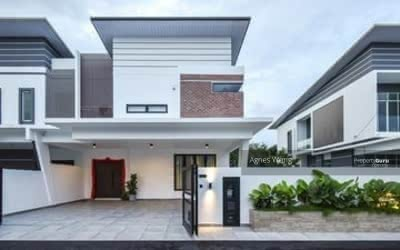 For Sale - MCO Rebate 18% Luxury SuperLink House 22X75 RM458K Gated Guarded Nearby Bukit Jalil, Puchong