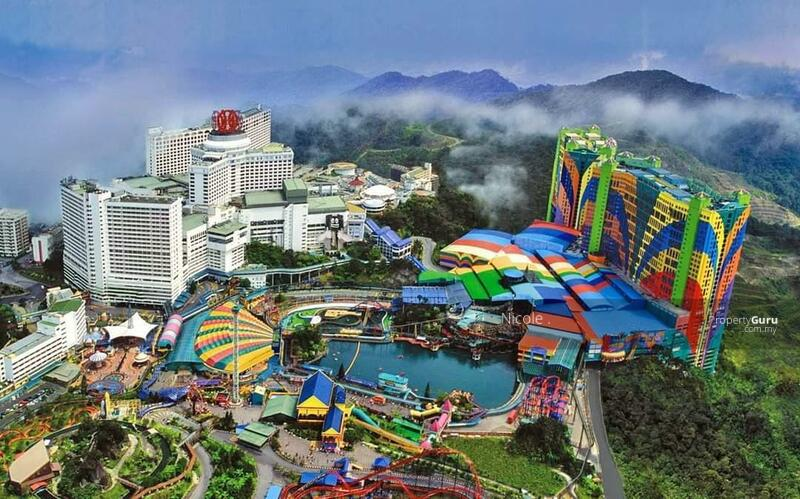 3xxK New Freehold Invest Condo!!! Fully Furnish KL And Genting View. #164340263