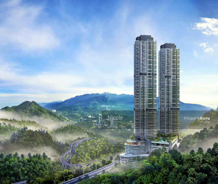 3xxK New Freehold Invest Condo!!! Fully Furnish KL And Genting View. #164340321