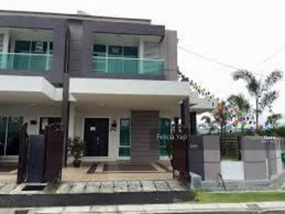For Sale - Non Facing Freehold Double Storey Superlink 0% D/P Full Loan HOC 2021