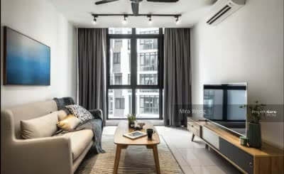 For Sale - MONT KIARA [ 180 Unit Only ] 3R3B low density + PURE RESIDENTIAL title 1300sqft KLCC View