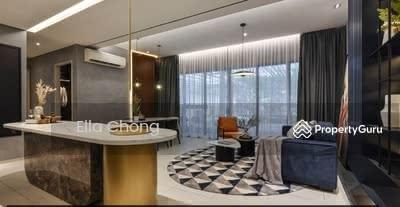 Dijual - 【 3KM TO KLCC 】Luxury Condo 3R2B Near MRT LRT Walk To Mall High Rebate