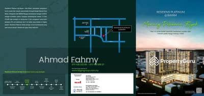 For Sale - Platinum Residency, Kelantan (Type P)