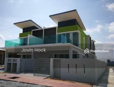 For Sale - [Hot Sell! ! ! 2021 Completed+0%D/P]2-Sty Freehold Superlink 23x80 NR Kelana Jaya , Damansara