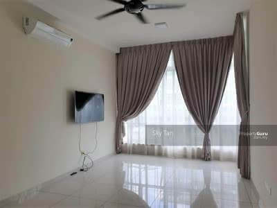 For Rent - The Seed Sutera Utama Town House 1240sqft Furnished Club Facilities