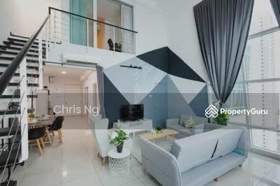 For Sale - Beside MRT【Fully RENO+Furnishe】8min to KL @ Cheras New Condo Full Loan