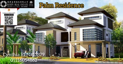 For Sale - Palm Residence 3 Storey Semi Detached at Jalan Stapok
