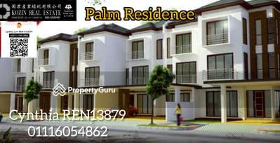 For Sale - Palm Residence 3 Storey Corner Terrace at Jalan Stapok
