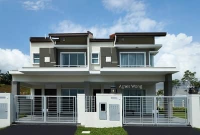 For Sale - [ Semi D Concept ] Luxury Big House Around Shah Alam, Freehold 2 Storey Only RM398K ! !