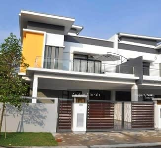 For Sale - [Luxury Double Storey Superlink] 26x70 Freehold Free Swimming Pool Nearby Bukit Jalil