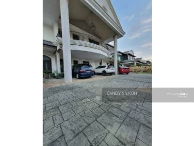 For Sale - Jalan Suria x Taman Suria 2 Unit Semi D Join become Bungalow renovated with fully furnished